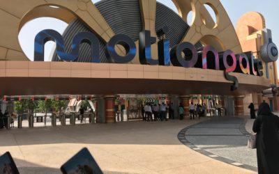 يوم عائلي جميل في Motion Gate Dubai!