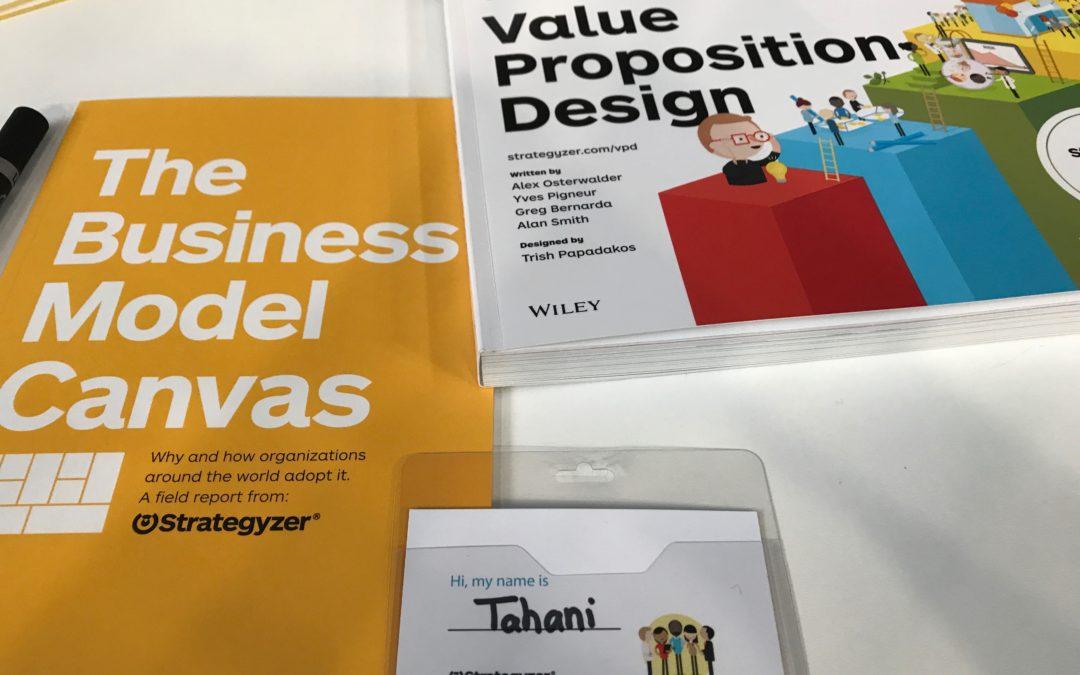 ورشة عمل Business model canvas مع Alex Osterwalder